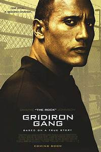 Gridiron Gang Movie Posters At Movie Poster Warehouse