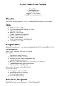 24 job wining administrative clerk resume for skills and abilities vntask com