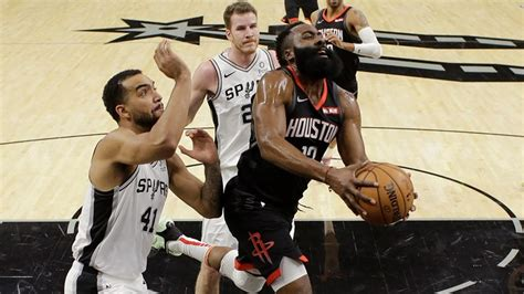 Rockets blow 22-point second-half lead, fall to Spurs in ...