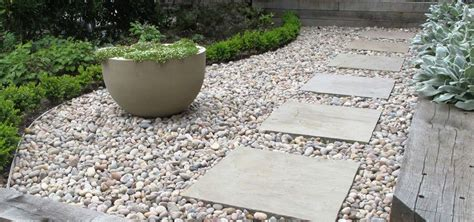 paving slabs  stones shaded backyard ideas pinterest