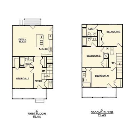 floor plans lafayette college acadian cottage landing lafayette
