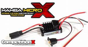 Castle Creations Mamba Micro X 1 18 Power System