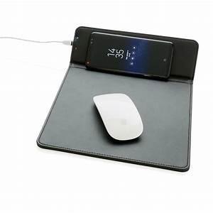 tapis de souris promotionnel avec chargeur par induction With tapis de souris personnalisé avec canape enceinte integre
