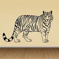 great tiger wall decals Tiger Wall Decal - Cutzz