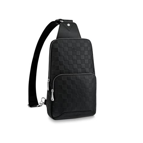 valentines day mens bags avenue sling bag damier infini leather louis vuitton
