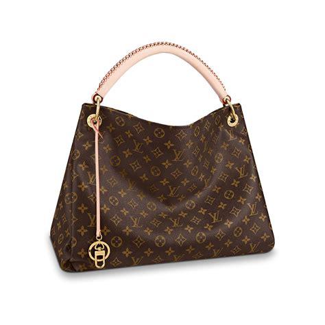monogram artsy mm womens luxury canvas handbag louis