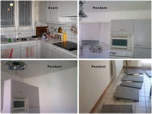 peindre cuisine melamine photos de conception de maison agaroth