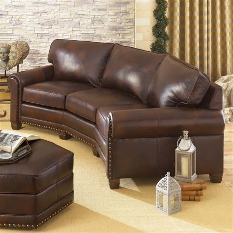 Conversation Loveseat by Traditional Conversation Sofa With Nailhead Trim By Smith