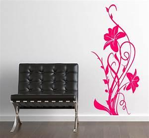 Wandtattoos Selber Machen : blumen aufkleber hibiskus wandtattoo wandtattoos wandaufkleber ~ Yasmunasinghe.com Haus und Dekorationen