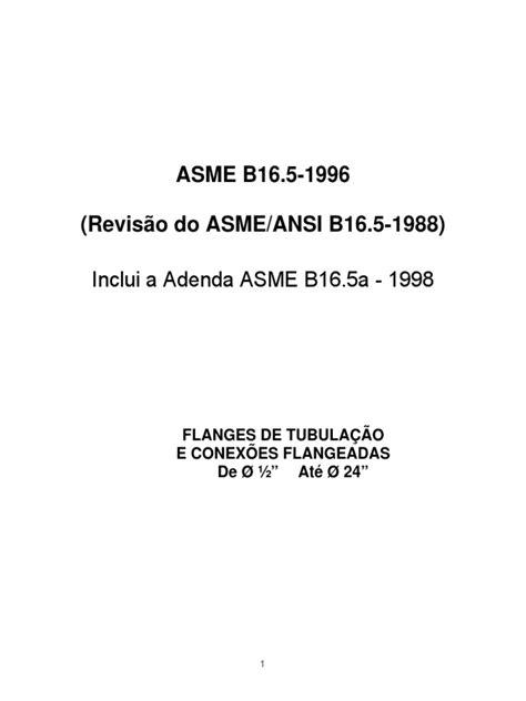 ASME-B16-5 (tradução).pdf | Ferro Fundido | Parafuso