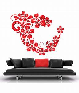 Buy decor kafe swirl wall decal best prices snapdeal