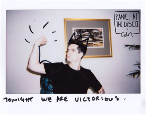 interview brendon urie     favourite panic