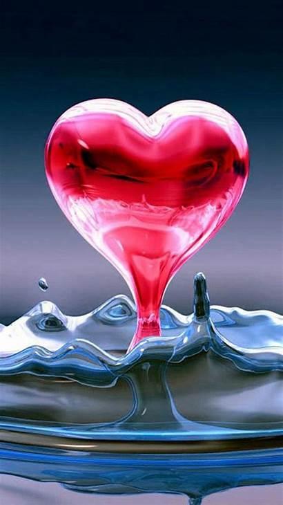Cool Heart Iphone Wallpapers Liquid Livewallpaperhd Screen