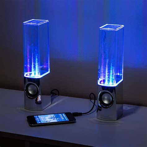 water light speakers water computer speakers