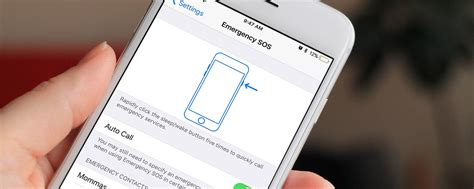 How to Turn on Emergency SOS with iOS 11 on iPhone