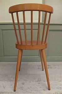 Chaise Bois Vintage : slavia vintage mobilier vintage chaise de style scandinave manitoba ~ Teatrodelosmanantiales.com Idées de Décoration
