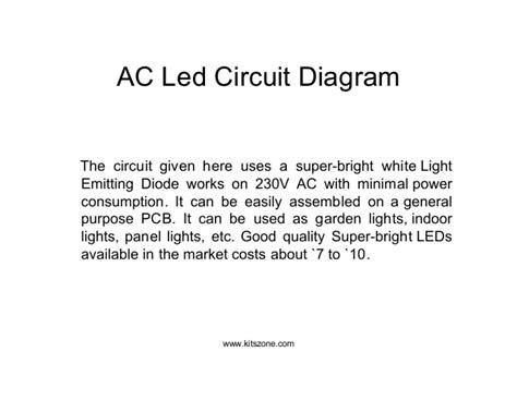 Led Circuit Diagram Lighting Circuits
