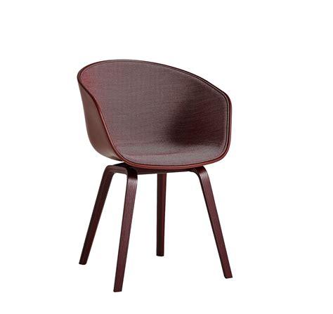 hay chaise chaise aac22 de hay avec tissu intérieur surface brick