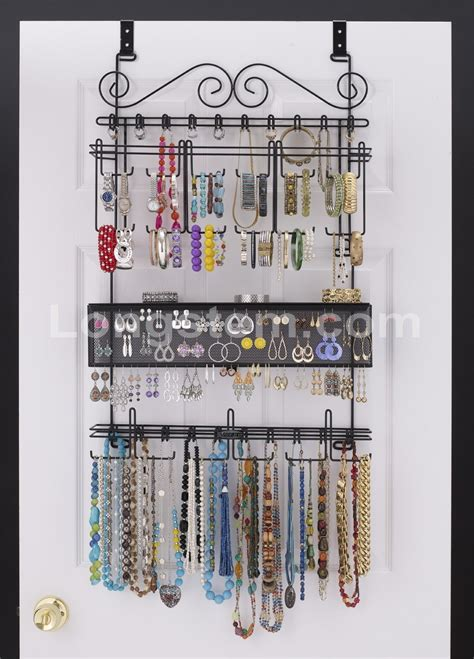 the door jewelry organizer 25 ingenious jewelry organization ideas the happy housie