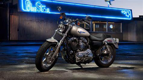Harley-davidson Sportster Xl1200c Custom Hd Wallpaper