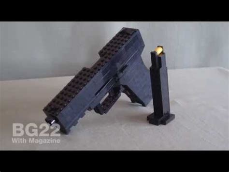 How To Make A Lego Pistolgun That Shoots (bricks) How