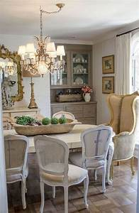 Cool, French, Country, Dining, Room, Table, Decoration, Ideas, 13
