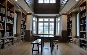 Home Library - Custom home libraries by Wesley Ellen ...