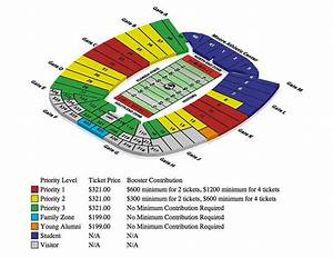 Doak Campbell Seating Chart Athletic Center Florida