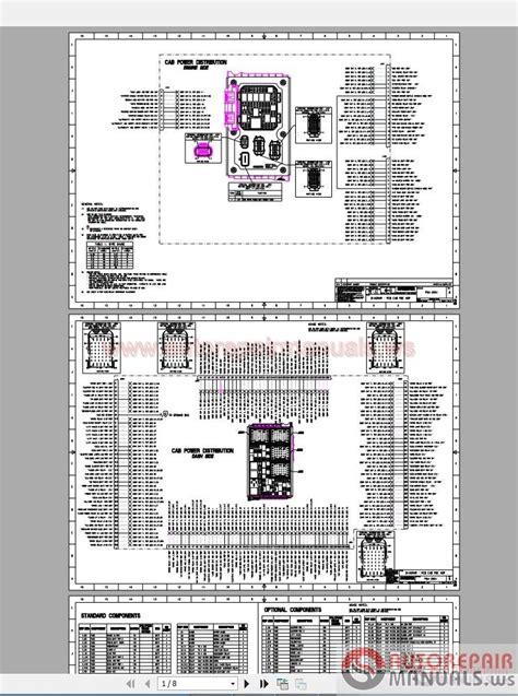 1994 Peterbilt Dash Wiring Diagram Schematic by Peterbilt Shematic Diagram 579 Electrical Auto Repair
