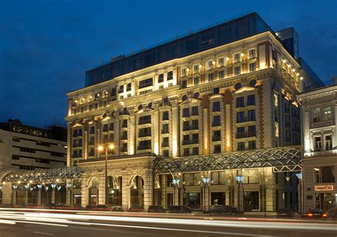Living It Up At The Ritzcarlton Moscow  The Inside Track