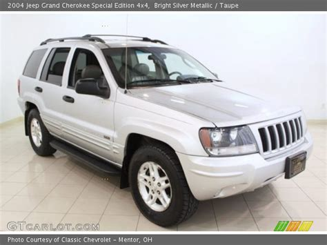 silver jeep grand cherokee 2004 bright silver metallic 2004 jeep grand cherokee special