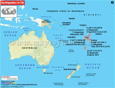 earthquakes  fiji areas affected  earthquakes  fiji