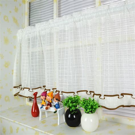 custom made kitchen curtains white railing stairs and