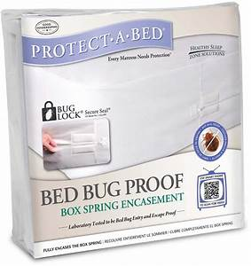 Protect a bed bed bug proof box spring encasement best for Best bed bug box spring encasement