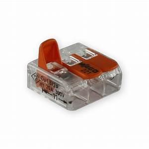Elektro Online Shop 24 : wago 3 leiter compact klemme 221 413 mit klemmb gel ~ Watch28wear.com Haus und Dekorationen