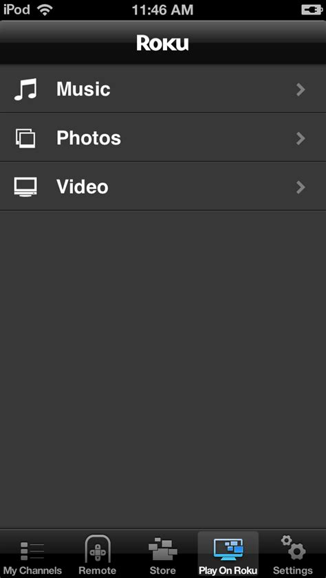 to roku from iphone roku updates iphone app with airplay like content