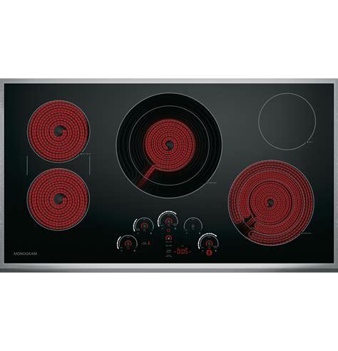 monogram  touch control electric cooktop zeursjss ge appliances