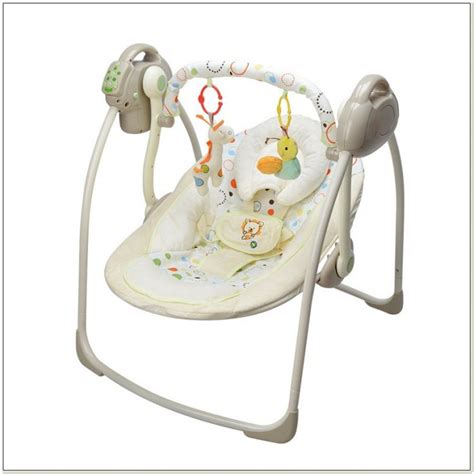 In Electric Baby Swing by Automatic Baby Swing Seat Chairs Home Decorating Ideas