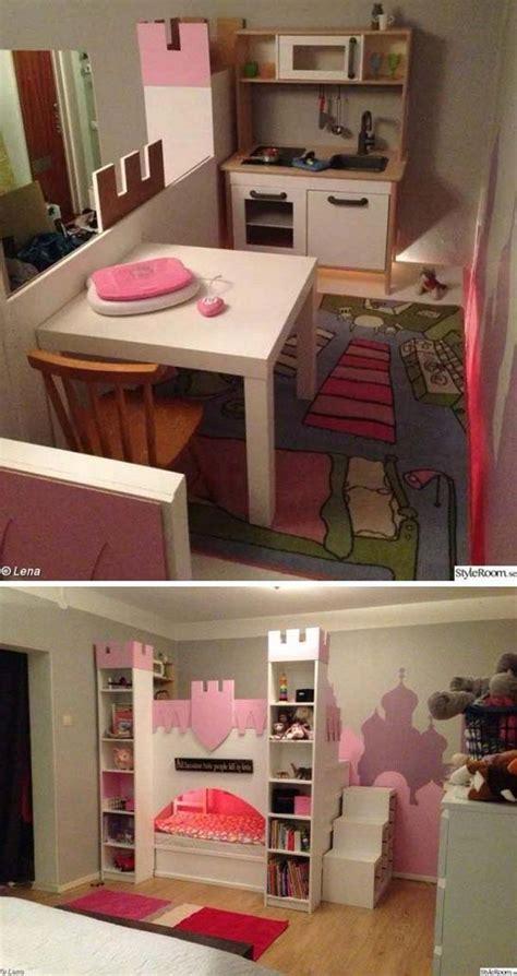 kura castle  upper play deck   kura bed  billy bookshelves  mdf board