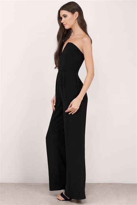 black wide leg jumpsuit taupe jumpsuit brown jumpsuit wide leg jumpsuit 74 00