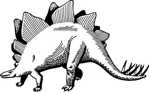 stegosaurus  vector  open office drawing svg svg