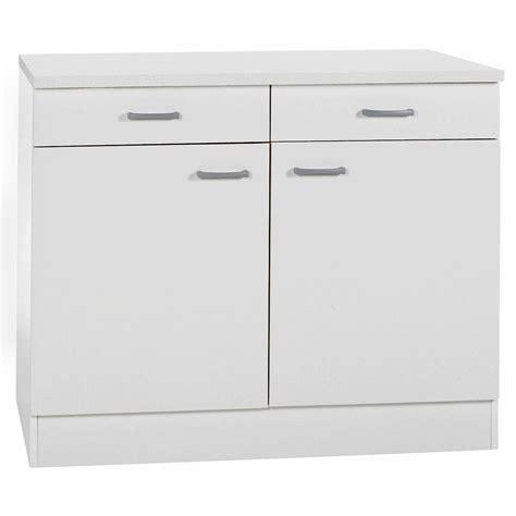 Küchen Unterschrank 72 Hoch Ikea by Unterschrank Klassik 60 Wei 223 100 Cm Mit Arbeitsplatte