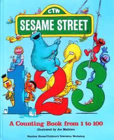 Sesame Street 123 Book