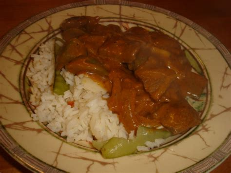 east indian cuisine east indian style spiced beef with rice recipe genius