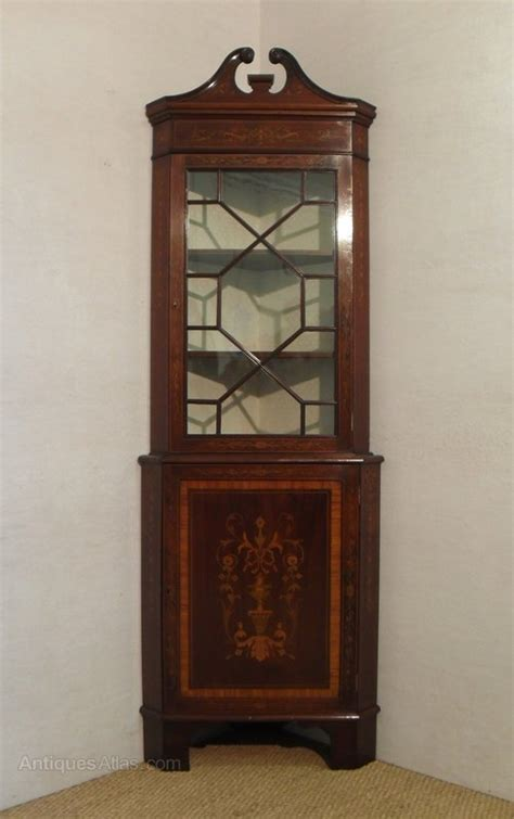 Corner Display Cabinet by Corner Display Cabinet Antiques Atlas