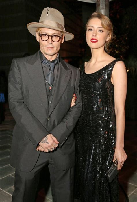 Is Amber Heard engaged to Johnny Depp?