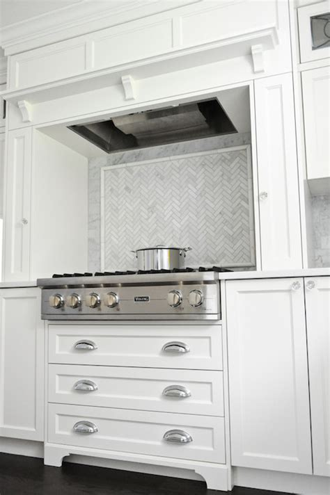 Drawers Under Stove   Transitional   kitchen   Enviable