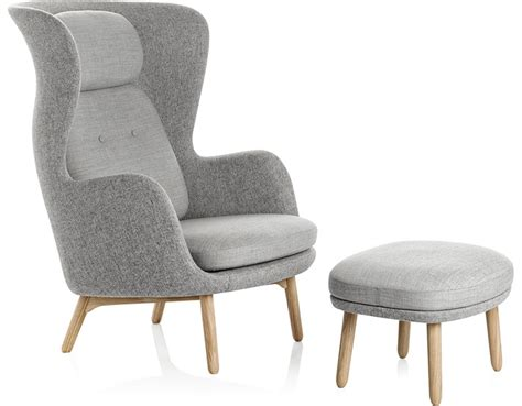 designer bar stools ro lounge chair and ottoman hivemodern com