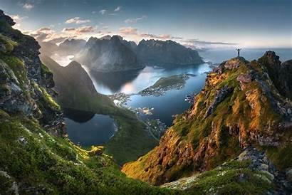 Norway Scenery Idyllic Lofoten Archipelago Tomas Havel
