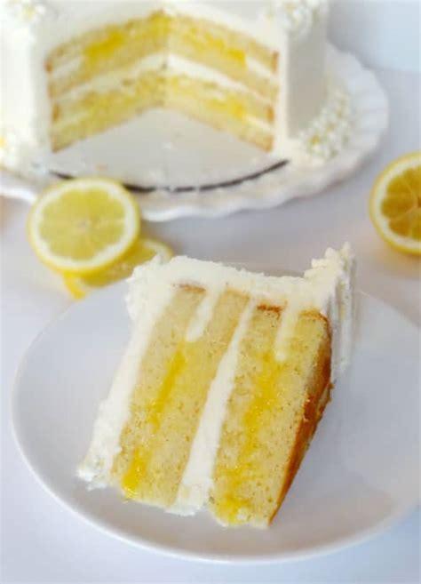 triple lemon cake life love  sugar